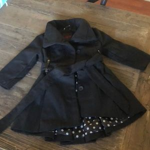 Toddler Girl Black Jacket 3T